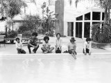 The Jackson Five Poolside at Home in Los Angeles  February 23  1973