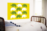 Yellow Elephant Family