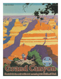 Santa Fe Railroad  Grand Canyon National Park  Arizona  1940s
