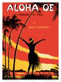 Aloha Oe  Farewell to Thee  Music Sheet  c1930