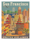 United Airlines San Francisco c1950