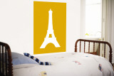 Orange Eiffel Tower