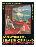 Montreux  Bernese Oberland Railway  Switzerland  c1925