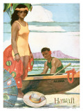 The Story Of Hawaii  Tourist Bureau Booklet 1929 Edition