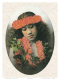Portrait of Hawaiian Girl  c1900