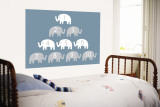 Blue Counting Elephants