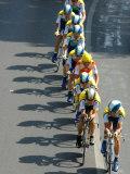 Fourth Stage of Tour de France, Montpellier, July 7, 2009 Papier Photo