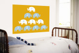 Orange Counting Elephants