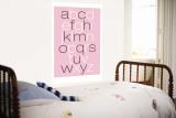 Pink Alphabet