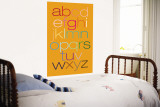 Orange Rainbow Alphabet