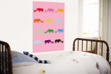 Pink Rainbow Rhinos
