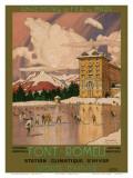 Chemins de Fer du Midi  Font-Romeu France c1920s