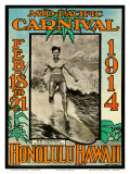 Mid Pacific Carnival 1914  Honolulu  Hawaii  Featuring Duke Kahanamoku