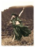 Primitive Hula  Hawaiian Hula Dancer