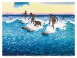 Surf Riders Honolulu  Hawaii  c1925