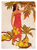 Breadfruit  Royal Hawaiian Hotel Menu Cover c1950s