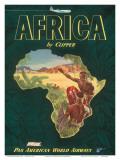 Pan American Airways Africa  c1949