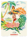 Matson Lines to Hawaii  Tropical Abundance c1930s
