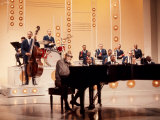 Ray Charles Recording Hollywood Palace Television Show  1966