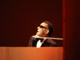Ray Charles in Tuxedo Performing