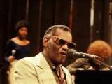 Ray Charles Performing