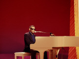 Ray Charles at White Piano
