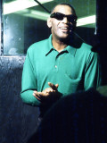 Ray Charles Taping a Coca-Cola Radio Commercial  1967