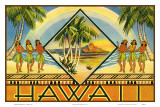 Hawaii Travel Brochure  c1943