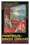 Montreux  Bernese Oberland Railway  Switzerland  c1925