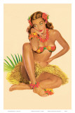Hawaiian Pin-Up Girl  1949
