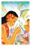 Hawaiian Gifts of the Sea  Menu Cover  c 1930s
