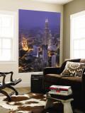 Petronas Twin Towers from Kl Tower  Kuala Lumpur  Malaysia
