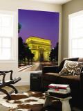 Arc de Triomphe  Night View  Paris  France