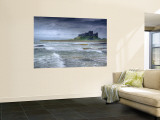 Bamburgh Castle  Northumberland  England  UK