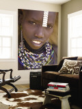 Portrait of a Girl of the Galeb Tribe  Lower Omo Valley  Ethiopia