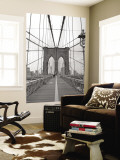 Manhattan and Brooklyn Bridge  New York City  USA