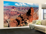 Grand Canyon from the North Rim  Arizona  USA