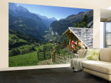 Alpine Cabin  Wengen and Lauterbrunnen Valley  Berner Oberland  Switzerland