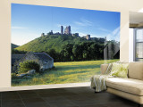 Corfe Castle  Dorset  England