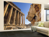 Temple of Bacchus  Baalbek  Bekaa Valley  Lebanon