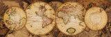 Carte du monde: Nova Totius Terrarum Orbis Reproduction d'art