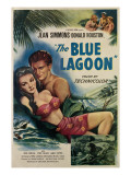 The Blue Lagoon  from Left  Jean Simmons  Donald Houston  1949