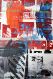 Night Shades & Urban Bourbons Reproduction d'art par Robert Rauschenberg