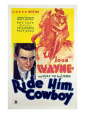 Ride Him Cowboy  John Wayne  Ruth Hall  1932