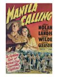 Manila Calling  from Left  Lloyd Nolan  Carole Landis  1942