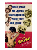 The Bribe  from Top  Robert Taylor  Ava Gardner  Charles Laughton  Vincent Price  John Hodiak  1949