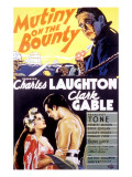 Mutiny on the Bounty  Movita  Clark Gable  Charles Laughton  1935