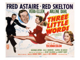 Three Little Words  Fred Astaire  Red Skelton  Vera-Ellen  Arlene Dahl  1950