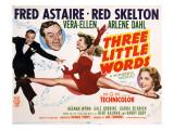 Three Little Words  Fred Astaire  Red Skelton  Vera-Ellen  Arlene Dahl  1950