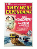 They Were Expendable  John Wayne  Donna Reed  Robert Montgomery  1945
